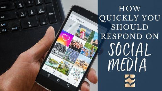 How quickly should you respond to clients on social media?